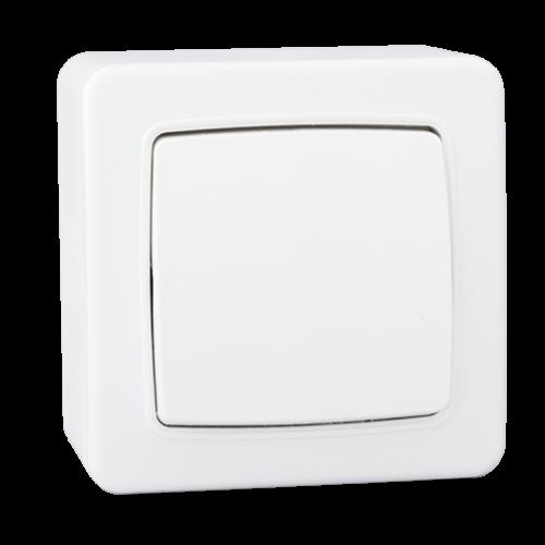 Stiel appareillage apparent Gamme Elyssa interrupteur simple allumage Blanc