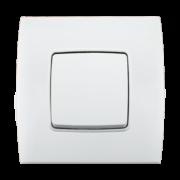 Stiel-appareillage-encastre-Gamme-phenicia-interrupteur-simple-allumage-Blanc