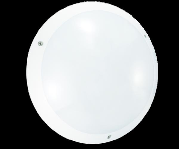Hublot polycarbonate blanc LED E27 STIEL