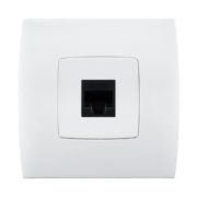 Stiel-appareillage-encastre-Gamme-phenicia-prise-telephone-Blanc