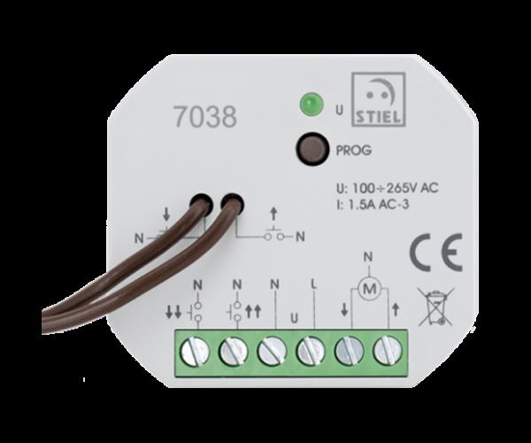 module relais centralisation volets roulants 7038